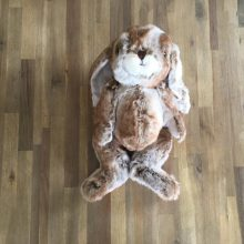 Grand Lapin 45 cm - Marron 3