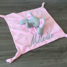doudou elephant rose