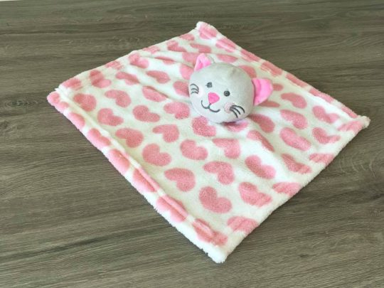 doudou chat pearls of baby personnalisée