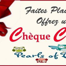 cheque cadeau pearls of baby