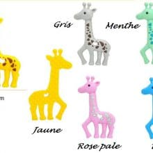 nouvelle girafe silicone special dentition