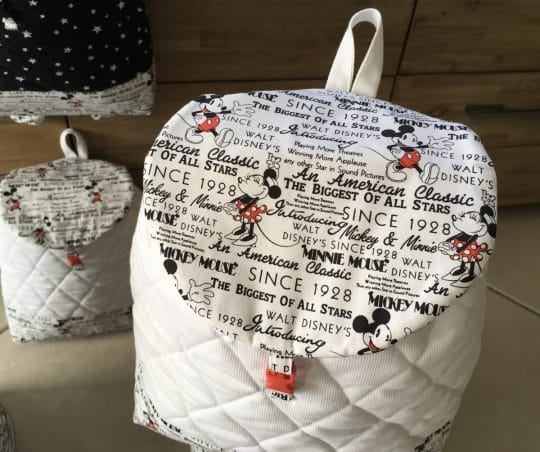 sac à dos bebe minnie et mickey 5