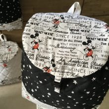 sac à dos bebe minnie et mickey 3