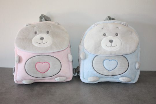 Sac a dos ourson baby personnalise