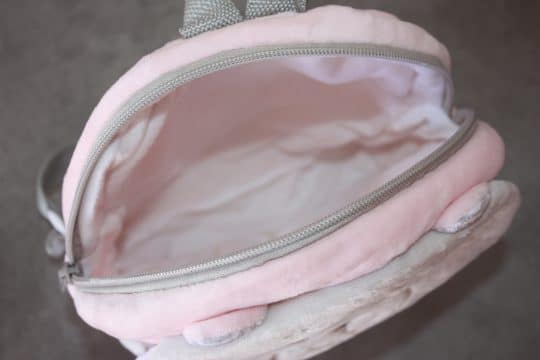 Sac a dos ourson baby rose personnalise 5