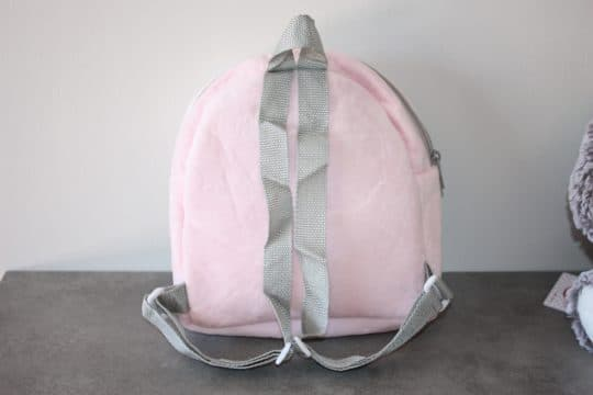 Sac a dos ourson baby rose personnalise 6